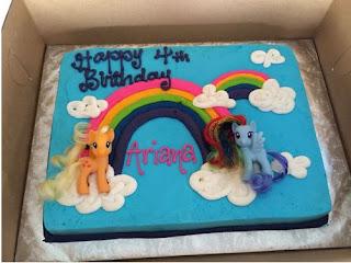 kue ulang tahun kuda pony