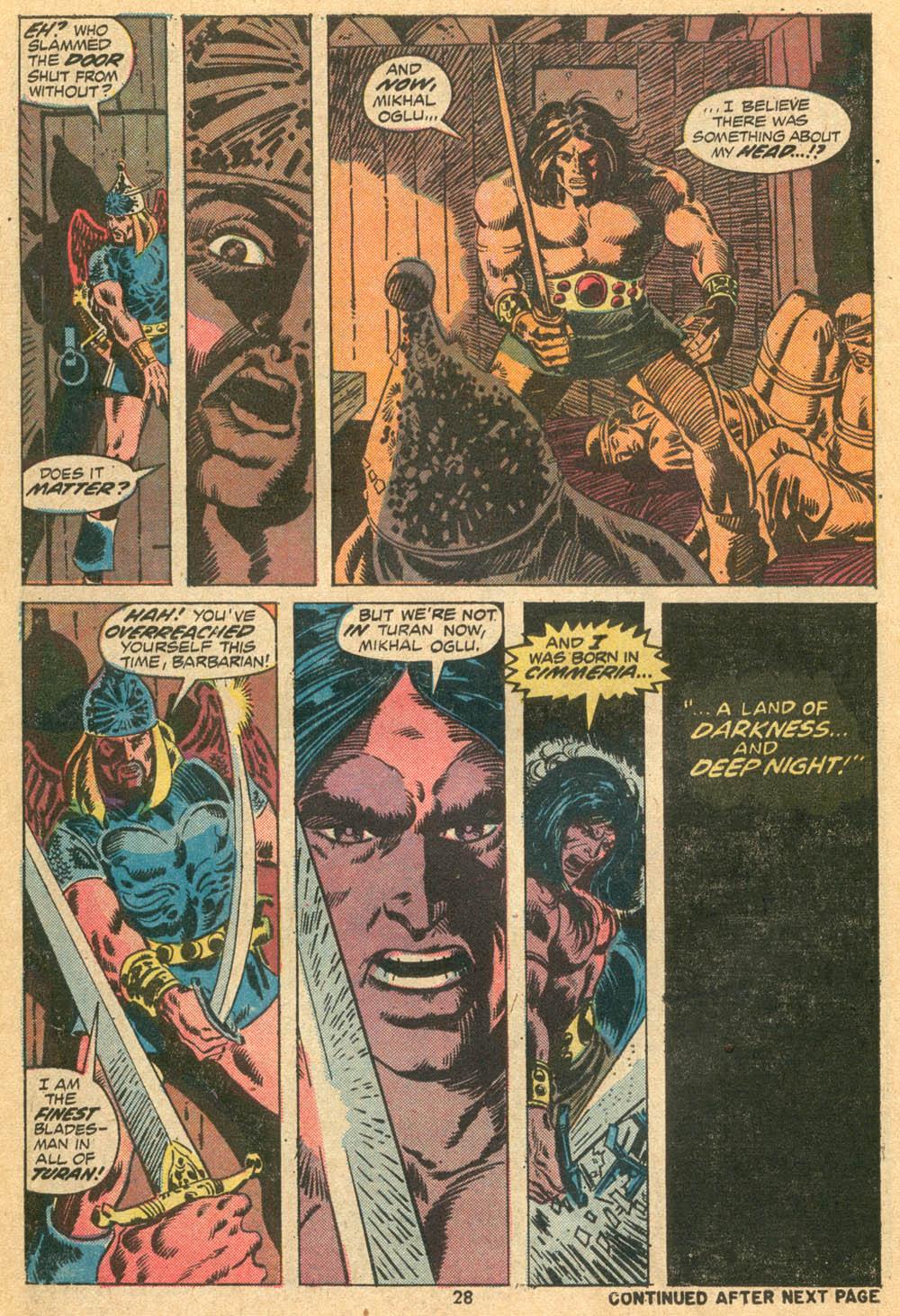 Conan the Barbarian (1970) Issue #23 #35 - English 20