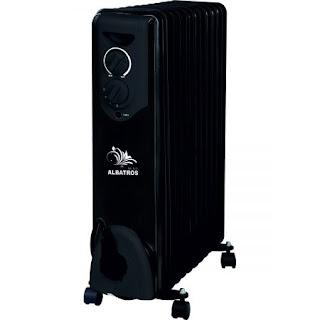 Model negru de calorifer electric 13 elementi 3000W alege aici pe cel mai bun