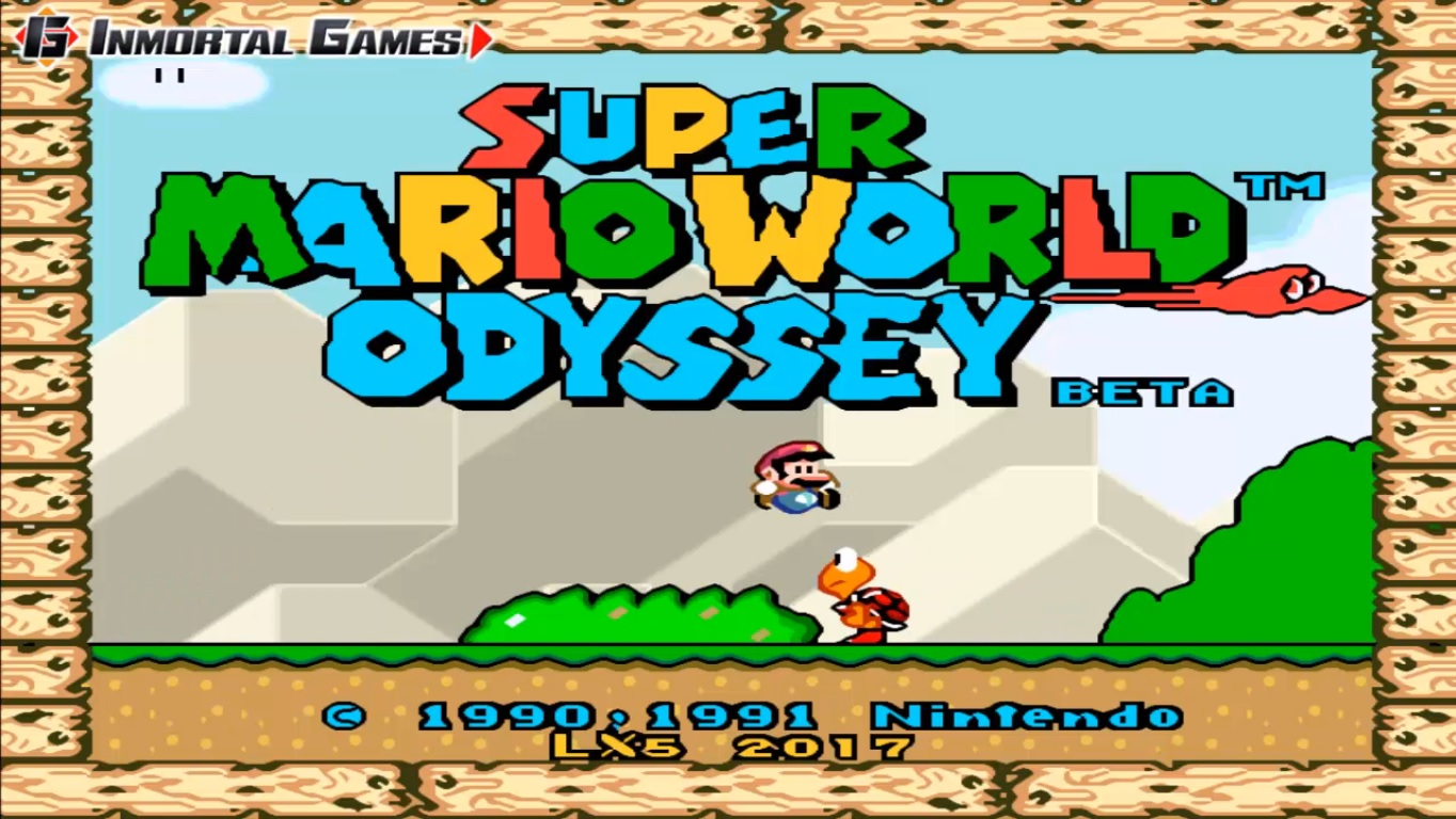Snes9x-Ex-ver 1 5 37 APK + Super Mario Bros Odyssey Snes Version