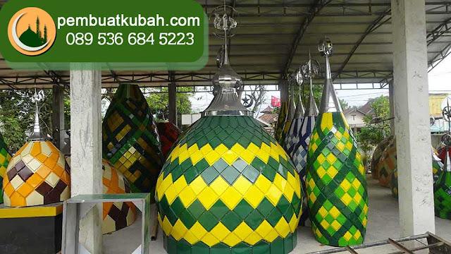 kubah masjid bahan grc