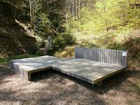 Der Baiersbronner Genussplatz am Simonsbrunnen im Kulinarischen Wanderhimmel