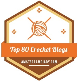 Connie's Spot© Awarded Top 80 Crochet Blog Award!!