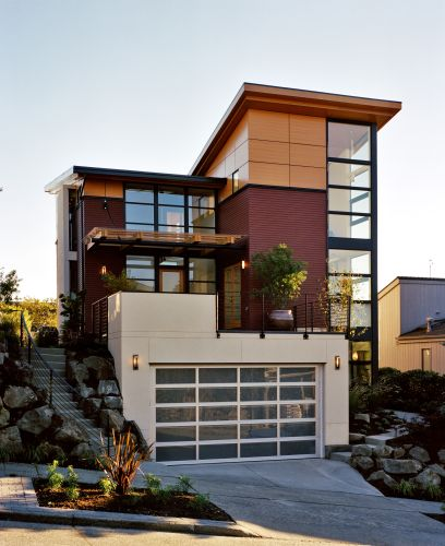 Contemporary Home Exterior Design Ideas: Modern-Wooden-Home-Design