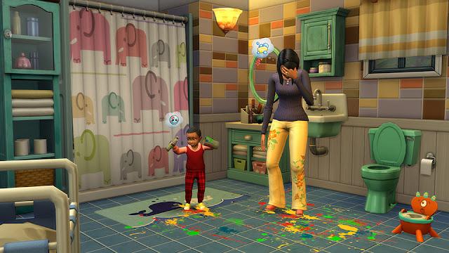 Los Sims 4 Papás y Mamás Pack de Contenido para jugar a vivir en familia
