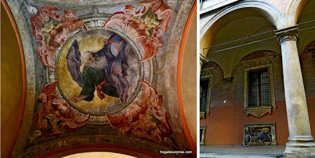 Oratório de Santa Cecília, Bolonha, Itália