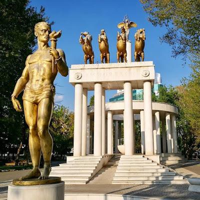 Estatuas en Skopje