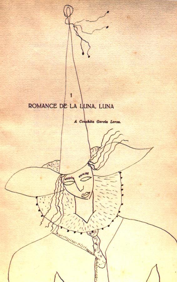 Lengua Y Literatura De Bachillerato Y Otras Cosas Comentario De Romance De La Luna Luna De Federico García Lorca