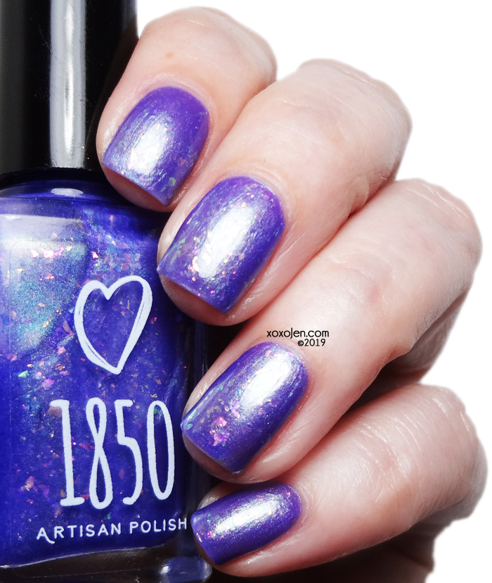 xoxoJen's swatch of 1850 Artisan Madame Lulu