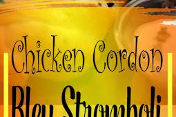 Chicken Cordon Bleu Stromboli Recipe