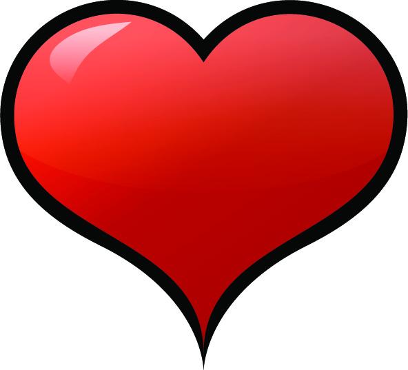 imagens de amor desenho de coração para imprimir
