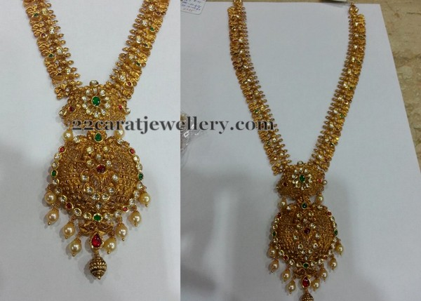 Antique Kundan Long Set