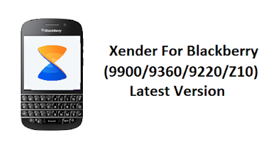 Xender For Blackberry 9900