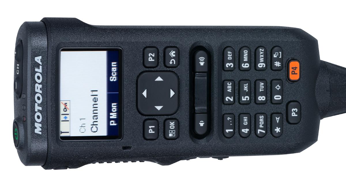Motorola Desk Microphone   Microphones   Mototrbo Handheld