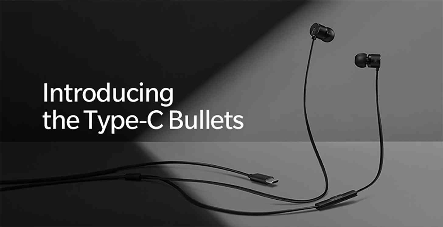OnePlus 6T will be launch with USB type-C Bullets headphone
