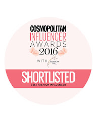 SHORTLISTED BY COSMOPOLITAN