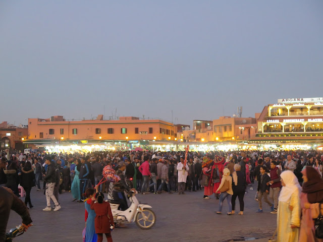 Plaza la Jemaa el Fna (Marrakech)