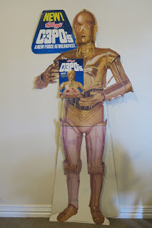 Kellogg's C-3PO's Cereal Store Display