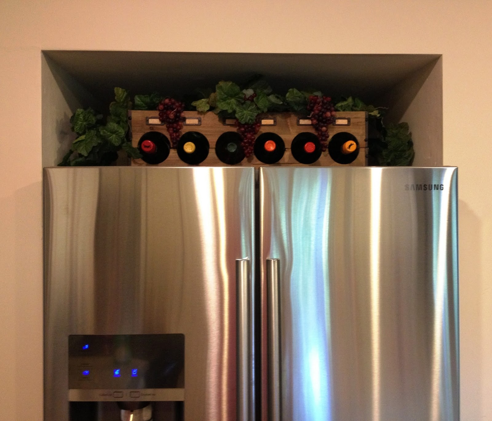 Top of refrigerator decor euffslemani top of refrigerator decor home decorating ideas publicscrutiny Choice Image