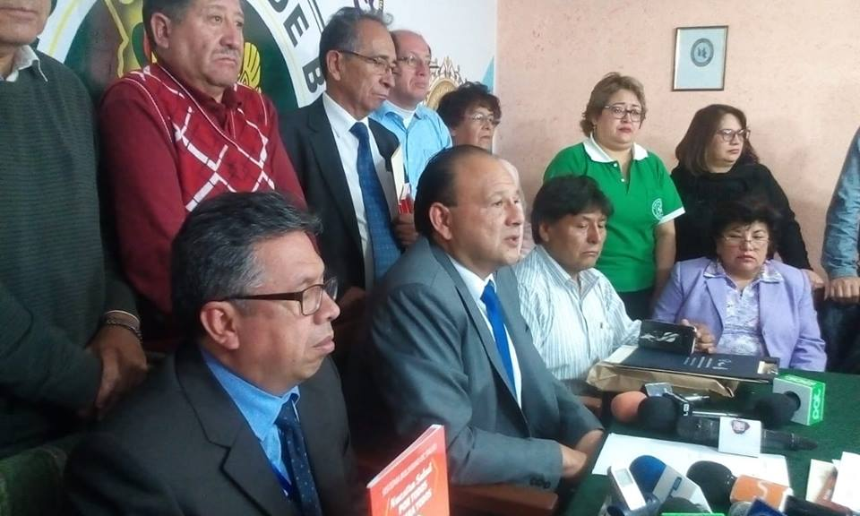 Colegio Médico de Bolivia insiste que el SUS no será sostenible ni a corto plazo  / FACEBOOK COLEGIO MÉDICO