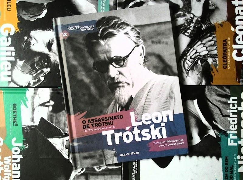 [GRANDES BIOGRAFIAS NO CINEMA #12] O ASSASSINATO DE TRÓTSKI - LEON TRÓTSKI