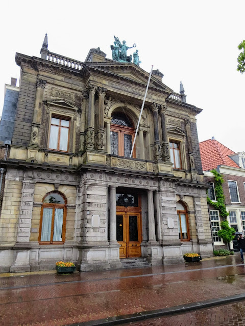 Top places to visit in the Netherlands: Teyler's Museum on a rainy day in Haarlem