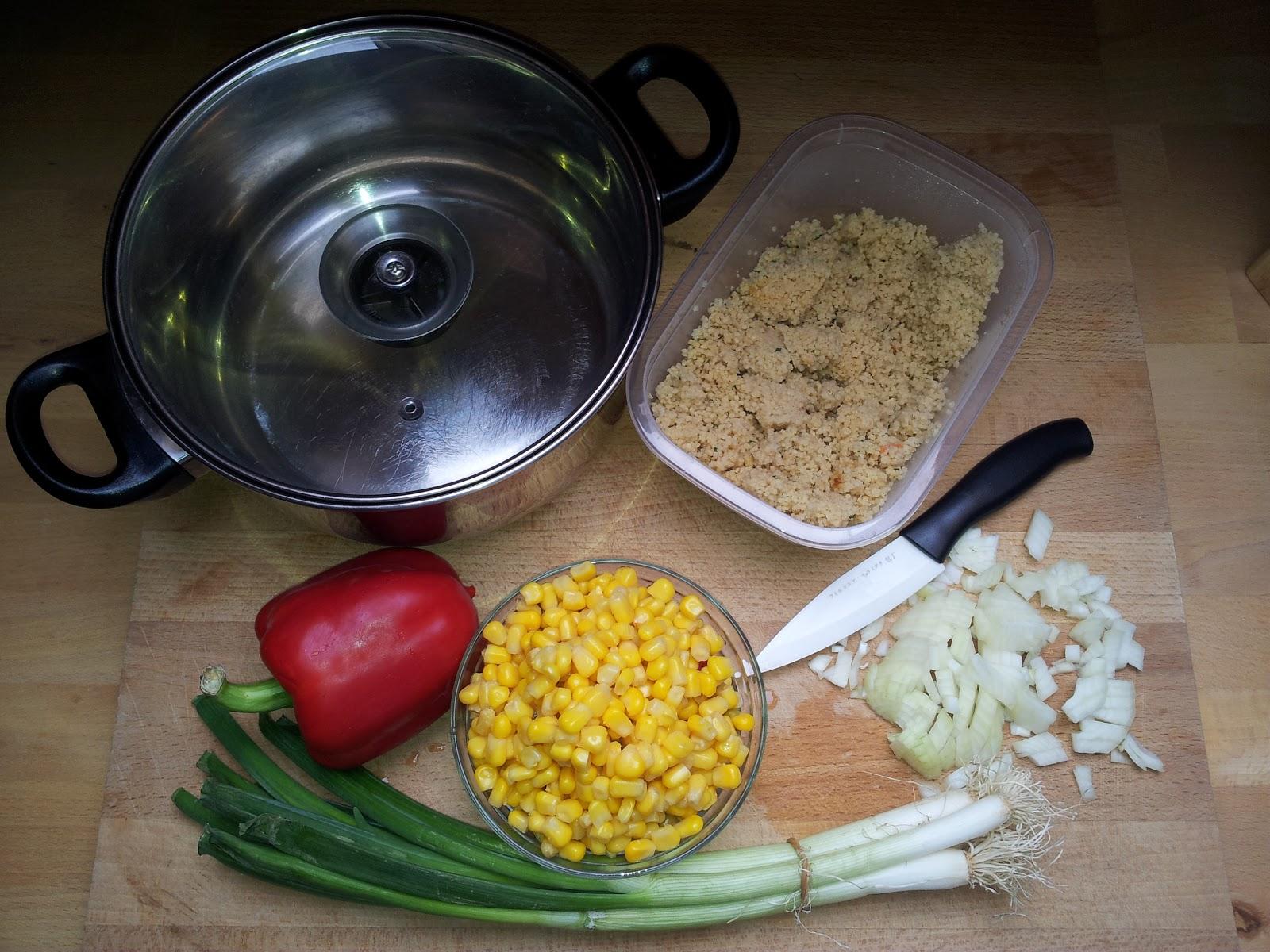 hungert ter warm oder kalt couscous gem se salat einfach und lecker. Black Bedroom Furniture Sets. Home Design Ideas