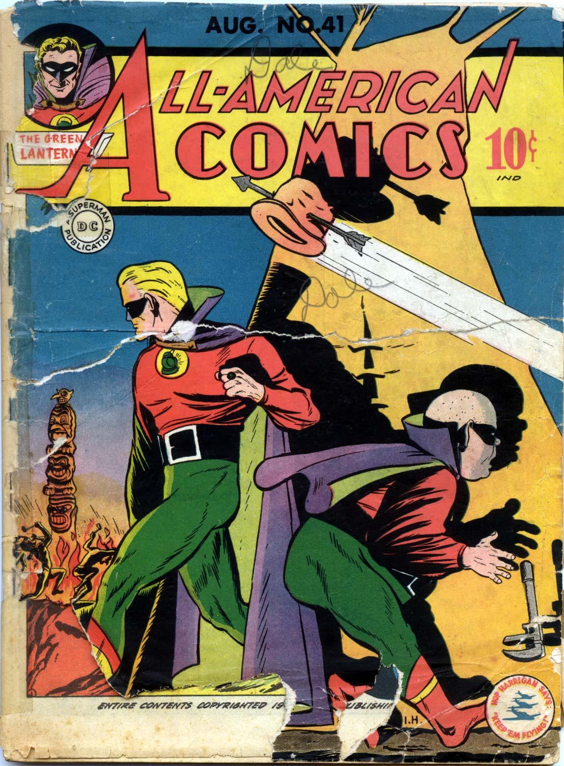 All-American Comics (1939) 41 Page 1