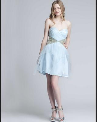 Model baju pesta Prom untuk anak muda
