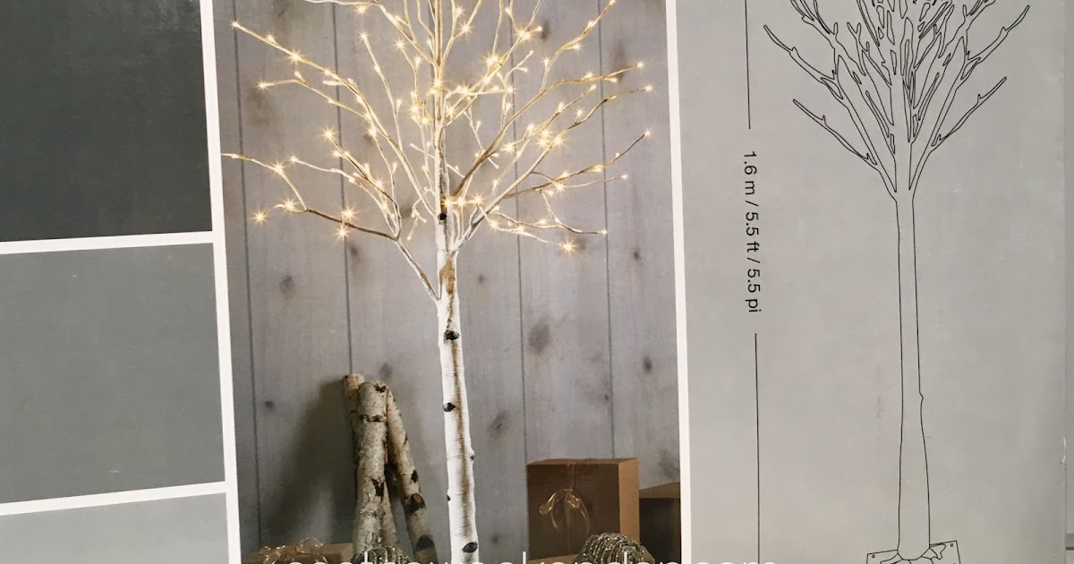 55 Ft LED Birch Tree Costco Weekender
