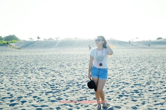 pemotretan di gumuk pasir parangkusumo