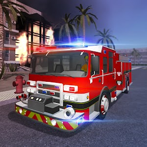 Fire Truck Simulator v1 3 Mod - A I O