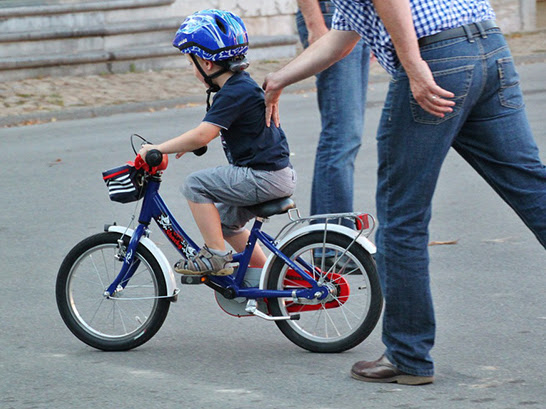 5 Steps for Teach Your Kid to Ride a Bike Without Training Wheels