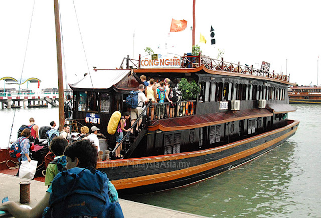 Halong Bay Tourist Boat
