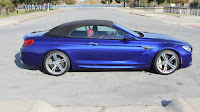 2016 New BMW Edition M6 Convertible side view