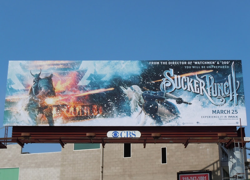 Sucker Punch Babydoll billboard