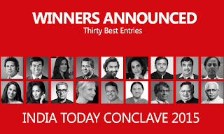 http://blog.blogadda.com/2015/03/25/winner-announcement-india-today-conclave15-the-world-remade-activity