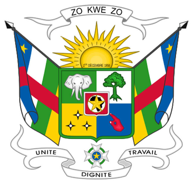 Coat of arms of the Central African picture