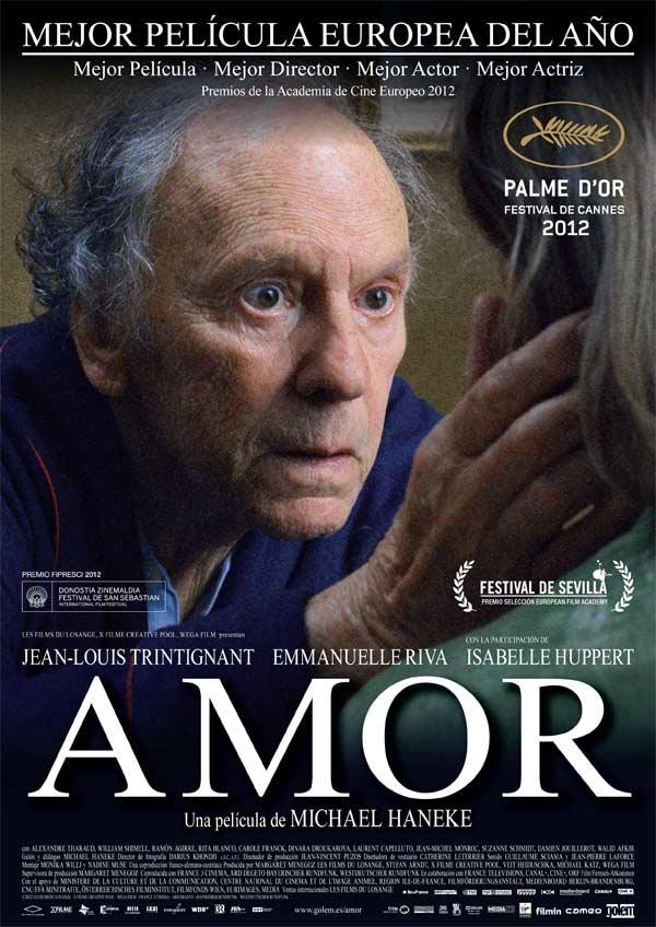 a006a6ec41 Hace tiempo que no veía una película que me emocionara tanto como esta de  Michael Haneke: Amor (Amour, 2012). Me es difícil trasladar en palabras lo  que ...