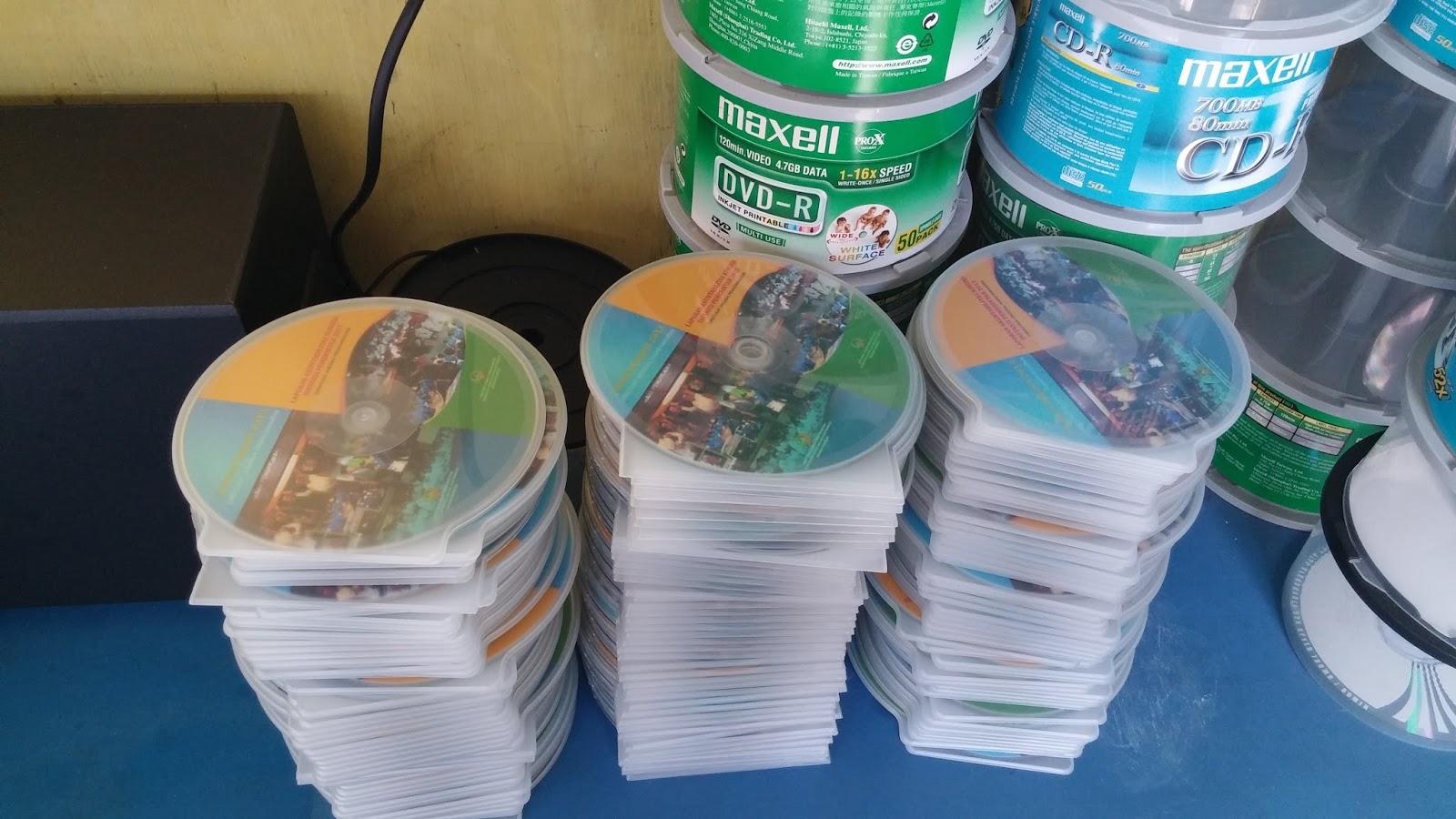 Jasa Cetak Dvd di DKI Jakarta Kota Jakarta Timur Makasar Pinang Ranti