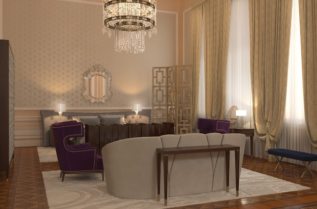 suite of the bariatinsky palace modern vision of interiors