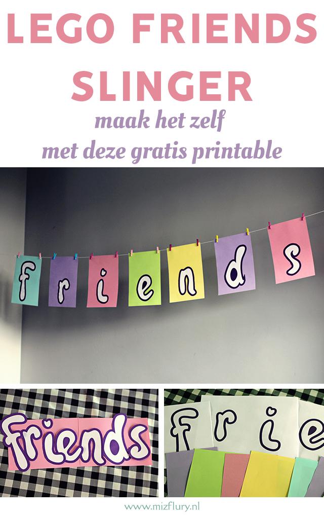 lego friends verjaardag versiering
