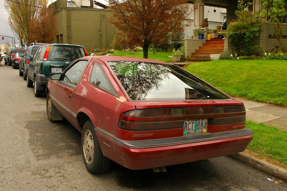 Old Parked Cars 1990 Dodge Daytona