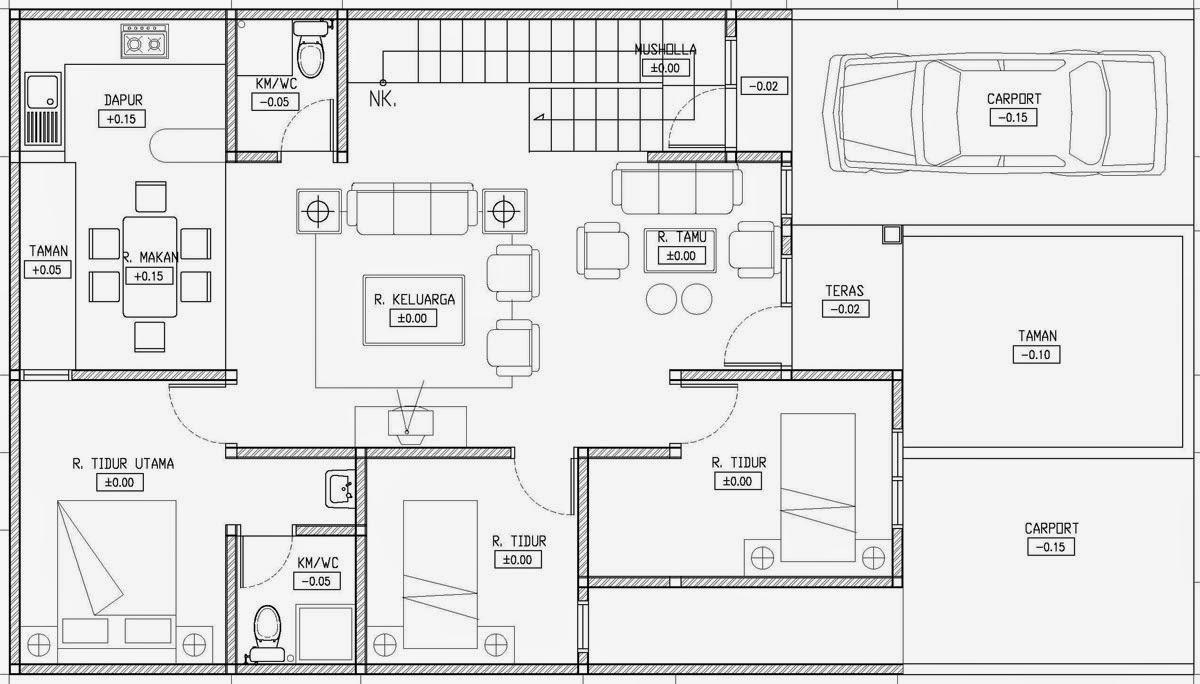 Gambar Desain Rumah Minimalis 1 Lantai Desain Terbaru