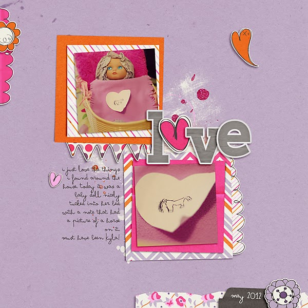 Love: Scrapbook Page