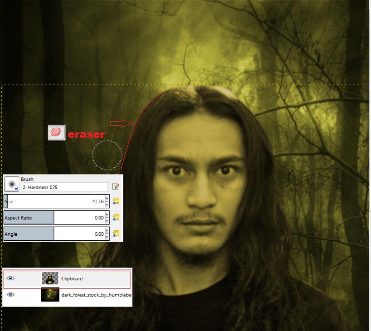 Cara membuat efek wajah tengkorak pada foto