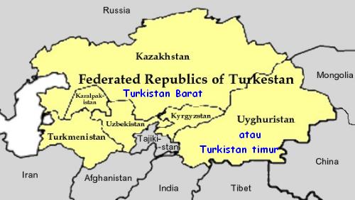sejarah turkistan timur muslim uyghur