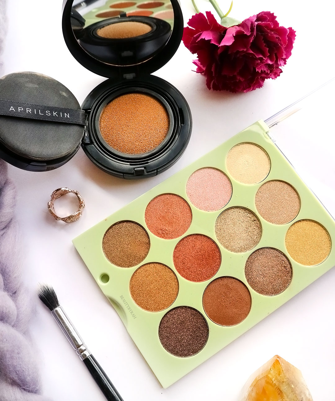 Pixi Reflex Light Eye Reflection Shadow Palette review