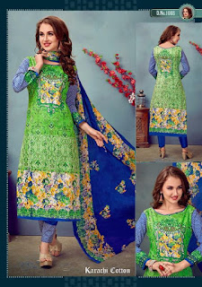 JANNAT KARACHI SUITS CATALOG WHOLESALER LOWEST PRICE SURAT GUJARAT
