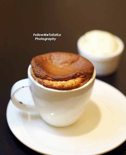 Grand Marnier Souffle With Vanilla Ice Cream (Waiting Time 20 min) RM 30